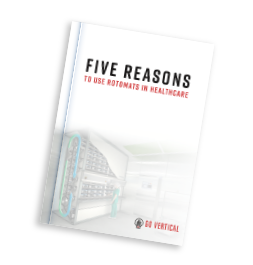 5 Reaons to use rotomats in healthcare brochure