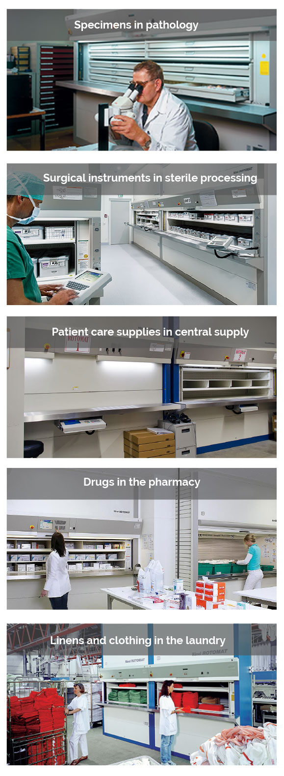 HANEL Healthcare Hospital Applications