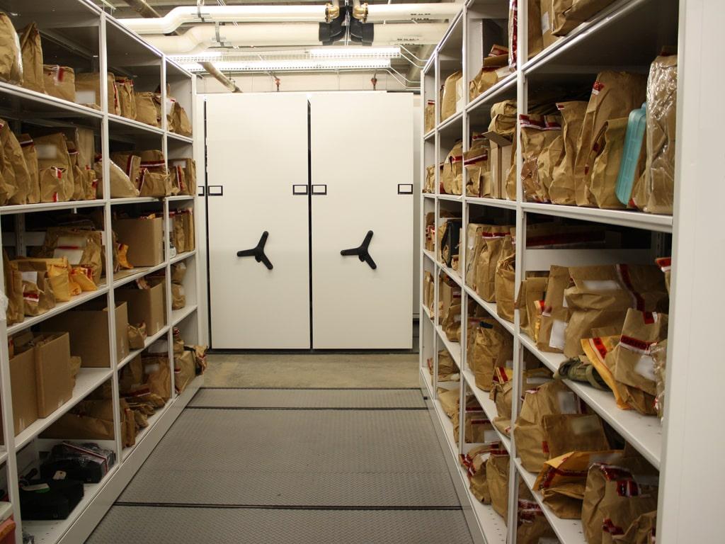Winston-Salem Police Department Storage