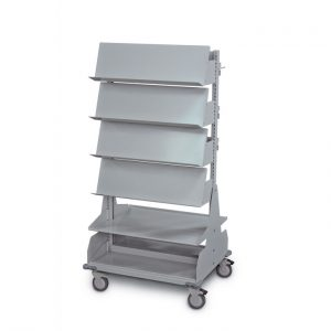Bin Carts are custom to the items most needed to store