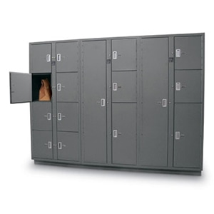 Evidence lockers preserve the chain of custody in law enforcement facilities