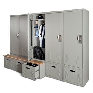 Freestyle Personal Storage Lockers offer a wide range of options to securely store equipment