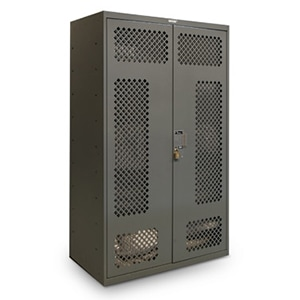Tactical Readiness gear lockers offer accessible yet secure storage for field gear and duty equipment