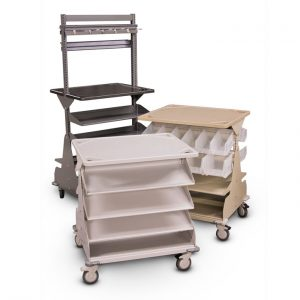 Different configurations for bin carts
