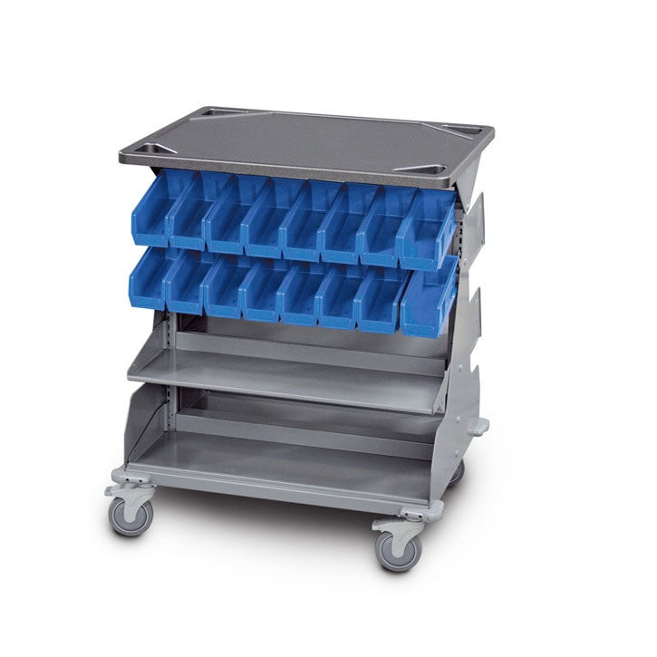 WrxWheels Transport System bin cart