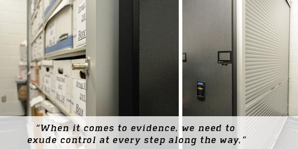 Evidence Storage Quote