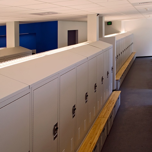 Personal Duty Lockers for Police Departments