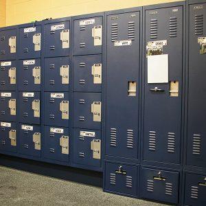 Athletic Equipment Storage Lockers