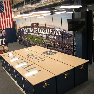 Football Equipment Storage Room