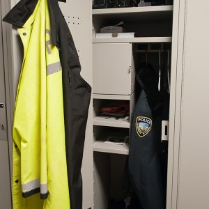 Campus Police Gear Storage