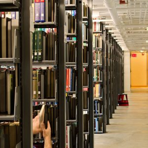Cantilever Library Stacks