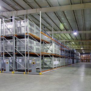 Fort Bragg Parachute Storage Container