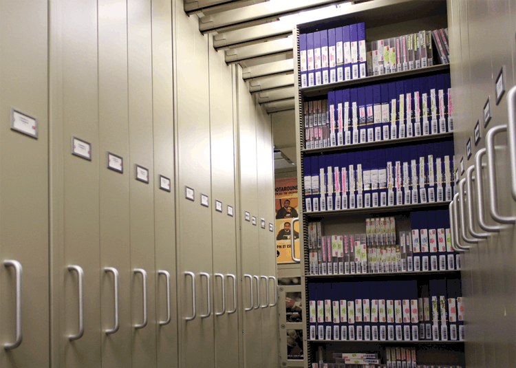 Gemtrac Tape and Media Storage Solutions