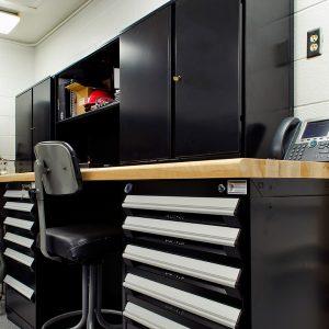 Modular Drawer Cabinets at Georgia National Guard