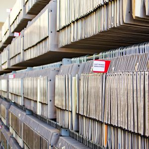 Hanging Files for Music Libraries