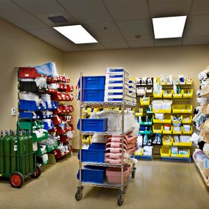 Healthcare-Storage-on-Modular-Bin-Storage Systems
