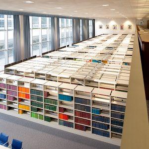 High-Density Library Shelving