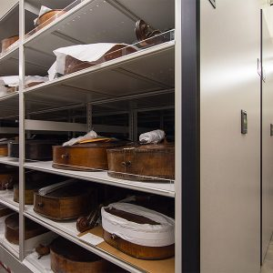 High-Density Instrument Storage Shelving