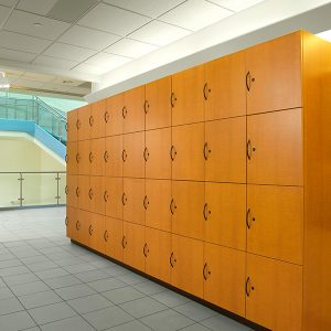 Laminate Lockers for Student Storage