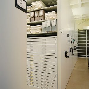Library Archive Storage System