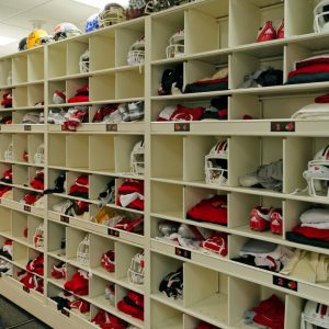 4 Post Shelving for Louisville Football