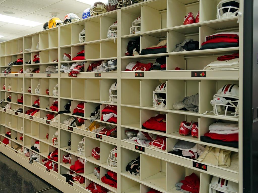 4 Post Shelving for Louisville Football