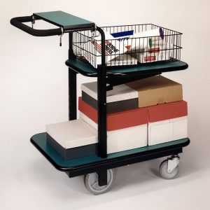 Executive Mail carts improve the distribution of mail