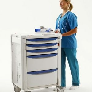 Medical Code Crash Carts can be accessed by multiple people at once