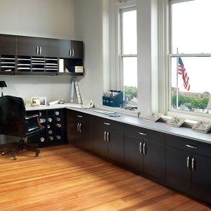 Modular Casework for Office Storage