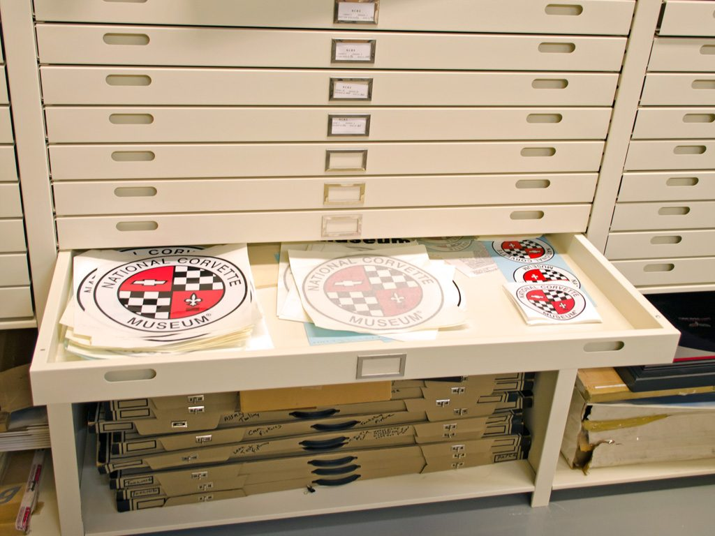 Flat File Cabinets, Map Cabinets And Museum Archival