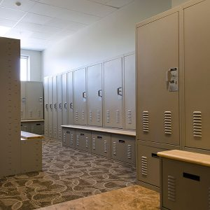 Personal Gear Lockers for Campus Police