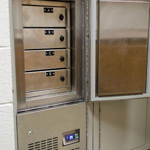 Refrigerated Evidence Storage Locker