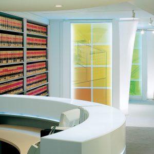 Case Type Shelving Office Storage