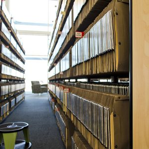 Sheet Music Storage in Hanging Files