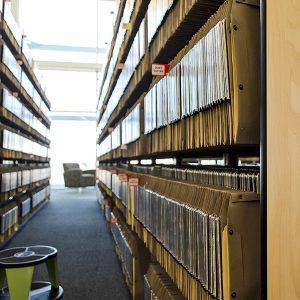 Sheet Music Storage in Hanging Files