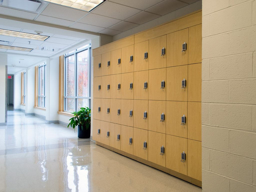 100 Lockers Office Storage Solutions Mobile
