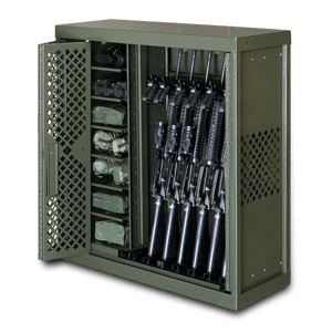 Universal Weapons Rack is versatile and flexible to be the best weapons storage for operational readiness