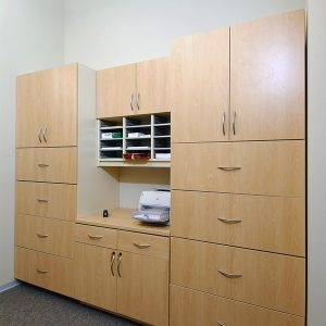 Modular Cabinets for Sorting and Work Stations