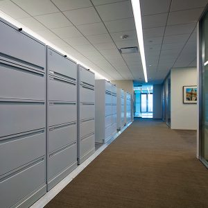 University Administrative Office Storage Cabinets