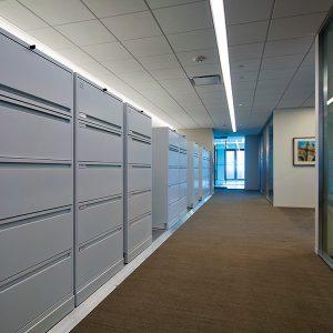 University Administrative Office Storage Cabinets