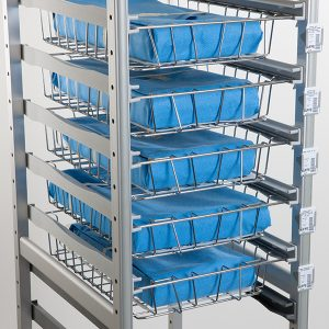 Belintra Sterisystem Healthcare Solutions Uflex shelving