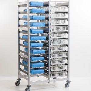 Belintra Sterisystem Healthcare Solutions Uflex shelving
