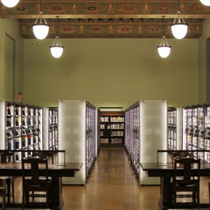 Cantilever Shelving at Historic Library