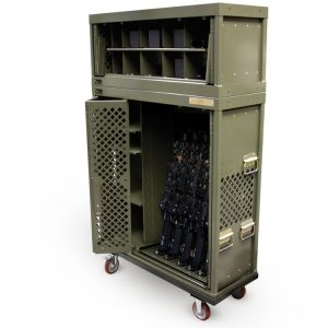 Universal Weapons Rack Storage System Cabinet Transport