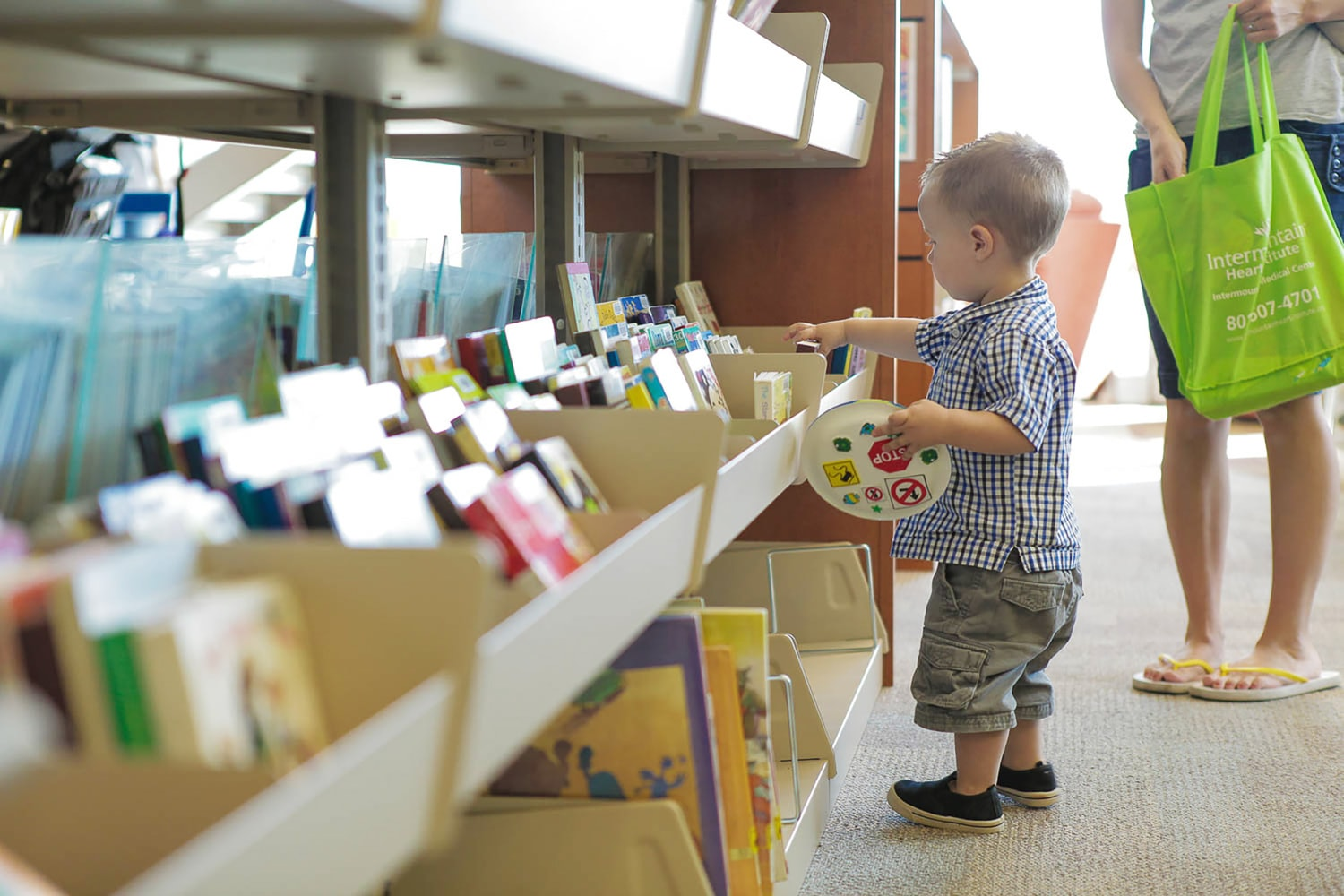 Cantilever Shelving accommodates all ages