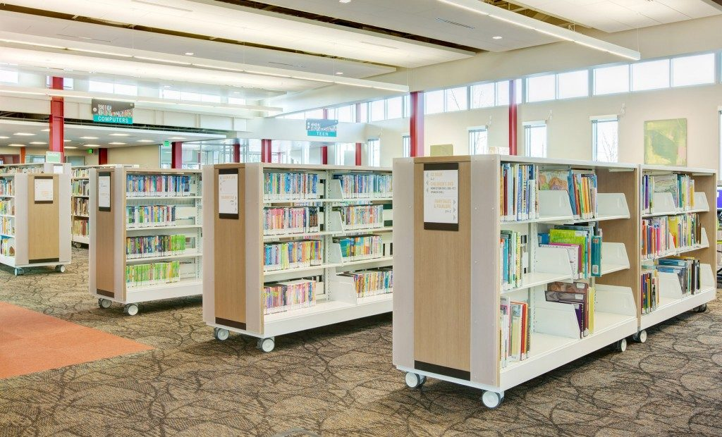 Library Shelving And Cantilever Patterson Pope
