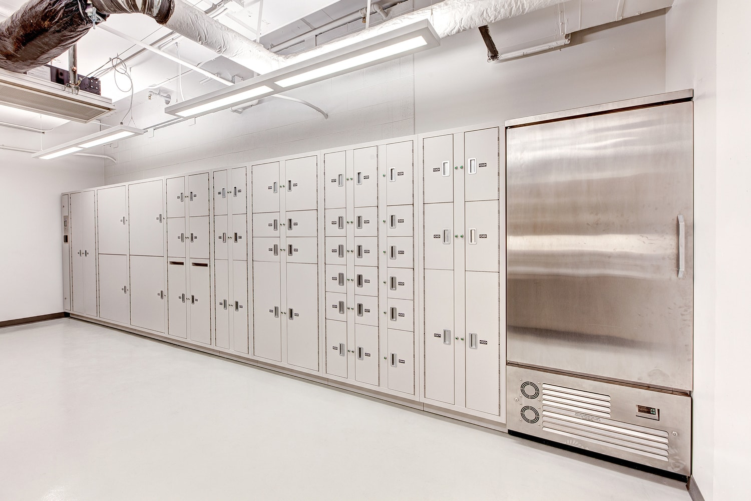 refrigerated lockers
