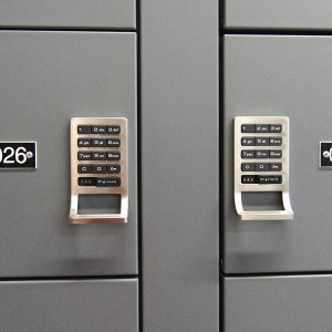 Wall Mounted Gun Lockers offer digilock protection