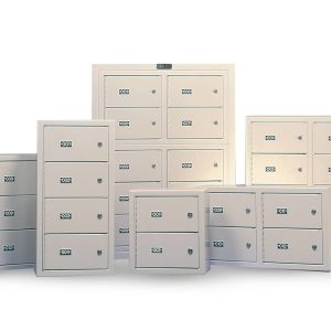 Wall Mounted Gun Lockers are available in multiple sizes
