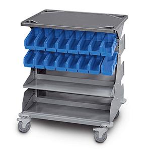 WrxWheels Transport System bin cart